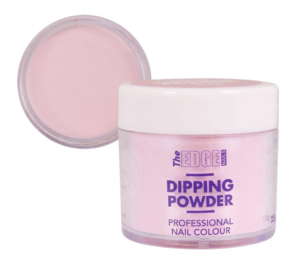EDGE COLOURED QUICK NAIL ACRYLIC DIPPING POWDER - NUDE LILAC